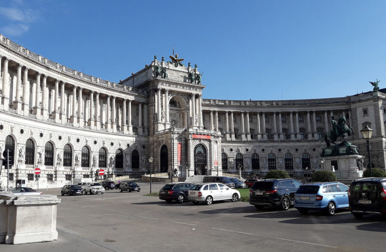 Vienna – the Hofburg