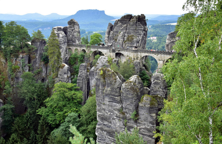 Saxon Switzerland – Bastei Bridge